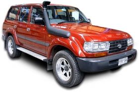 Шнорхел Vromos за Toyota Land Cruiser 80