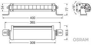 Osram Lightbar FX250-SP