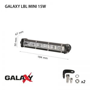 LED фар GALAXY LBL MINI 15W